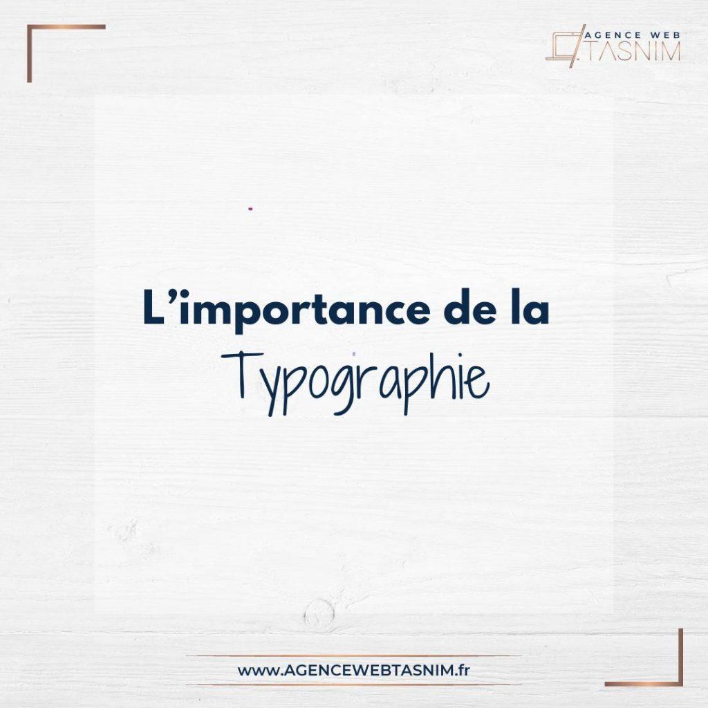 importance de la typographie